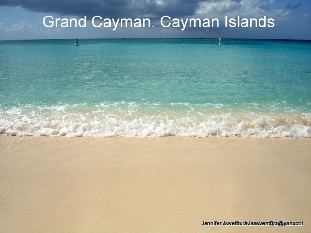 Grand Cayman - Cayman Islands Jennifer Avventura 2012